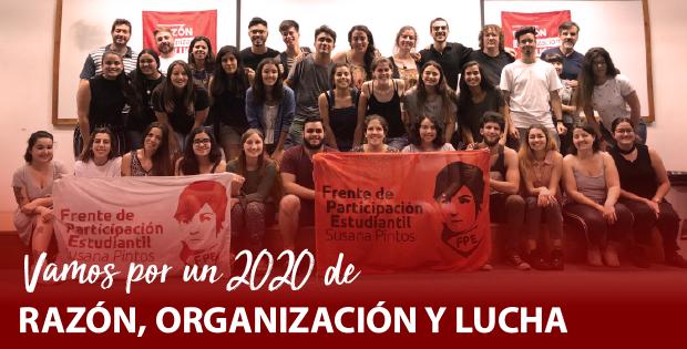 Vamos por un 2020 de razón, organización y lucha.